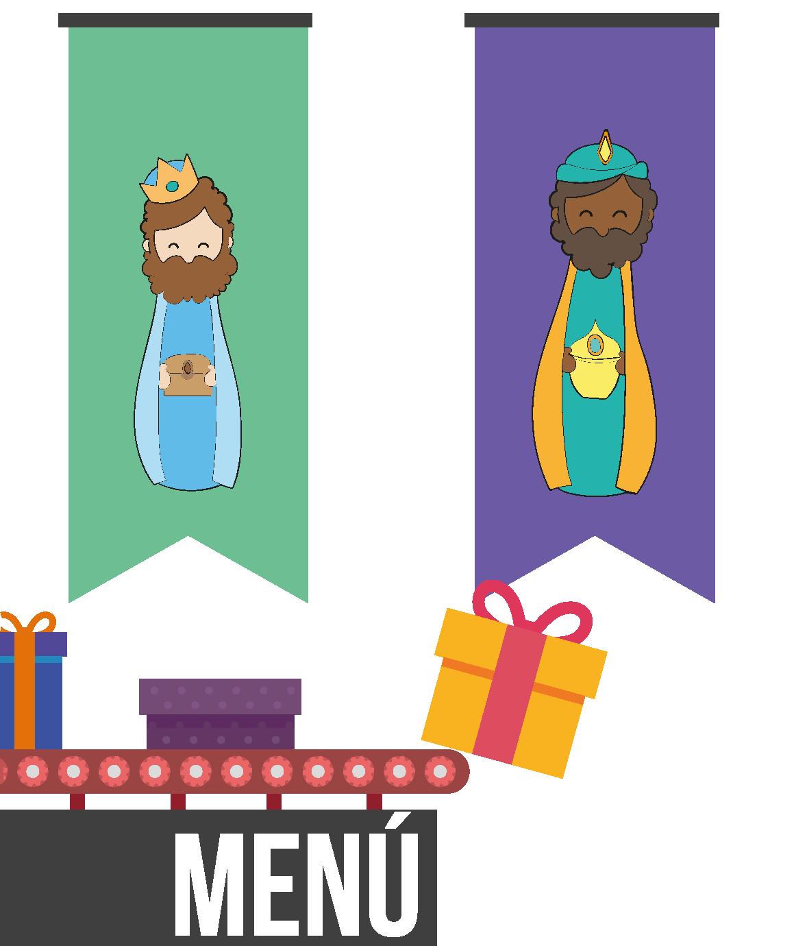 menú la fabrica de los reyes